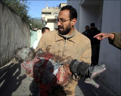 ابنة القيادي في �ماس نزار ريان قتلتها الطائرات الإسرائيلية لأنها اعتبرتها خطرا على أمن إسرائبل