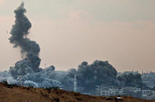 نتائج الدمار الذي تركتها الة القتل الصهيونية